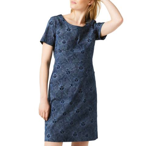 White Stuff Navy Marianne Dress