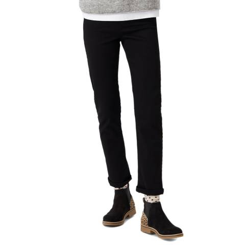 White Stuff Black Cedar Straight Jean