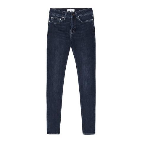 Reiss Indigo Lux Skinny Stretch Jeans