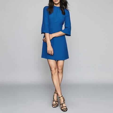 Reiss Cobalt Blue Cora Plain Shift Dress