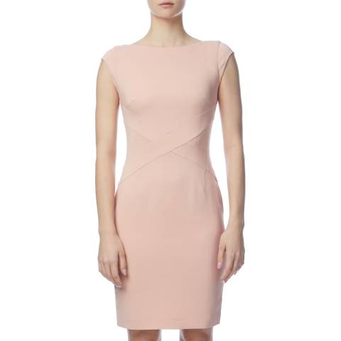 Reiss Baby Pink Agnese Day Dress