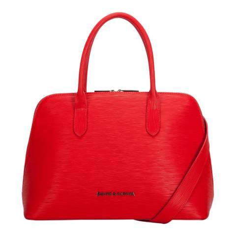Smith & Canova Red Azala Bugatti Bag