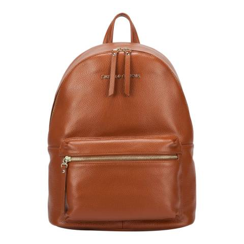 Smith & Canova Tan Martes Zip Around Backpack