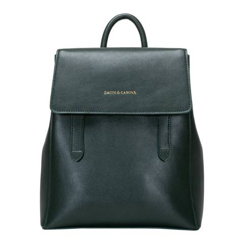 Smith & Canova Green Structured Backpack