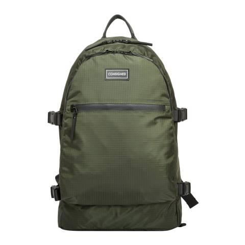 CONSIGNED Khaki Barton Backpack
