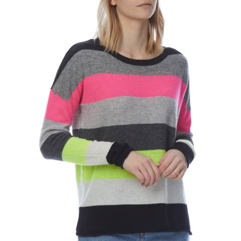 Scott & Scott London Multi Cashmere Pimlico Jumper