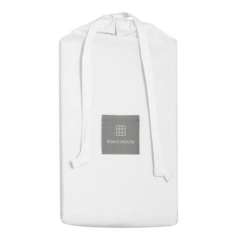 Soho Home House Frette Pair of King Housewife Pillowcases, White