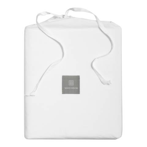 Soho Home House Frette King Fitted Sheet, White