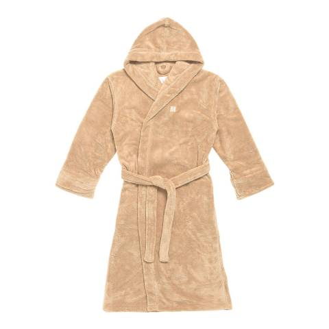 Soho Home Farmhouse Frette Robe, Beige
