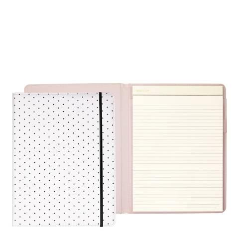 Kate Spade Notepad Folio, Bikini Dot (Black)