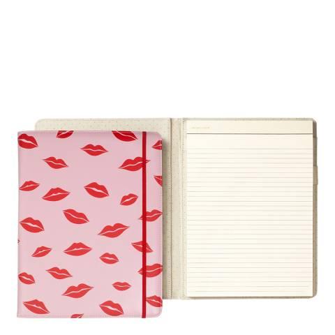 Kate Spade Notepad Folio, Lips