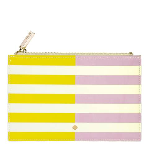 Kate Spade Pencil Pouch, Two-Tone Stripe