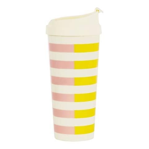 Kate Spade Thermal Mug, Two-Tone Stripe