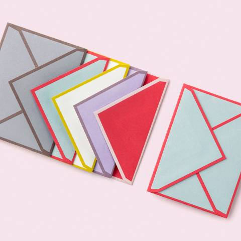 Kate Spade Gift Enclosures, Colorblock