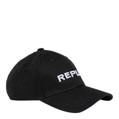 Replay Black Logo Cap