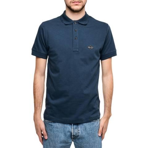 Replay Petrol Cotton Stretch Polo Shirt