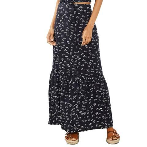 Mint Velvet Lara Print Boho Maxi Skirt