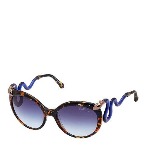 Roberto Cavalli Women's Blue/Tortoise Roberto Cavalli Sunglasses 58mm