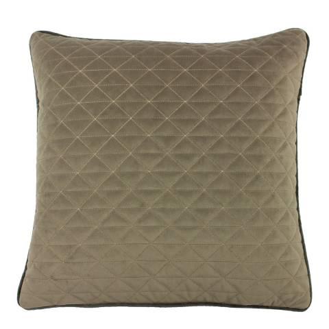 Riva Home Taupe/Charcoal Quartz Filled Cushion 45x45cm