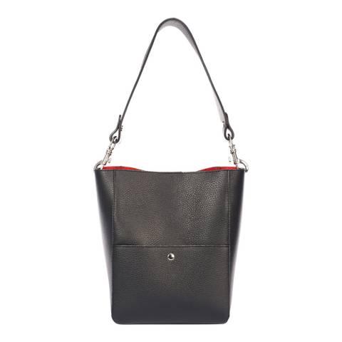 Giorgio Costa Black Leather Shoulder Bag