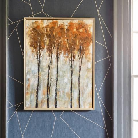 Gallery Autumn Walk Framed Canvas 64x84cm