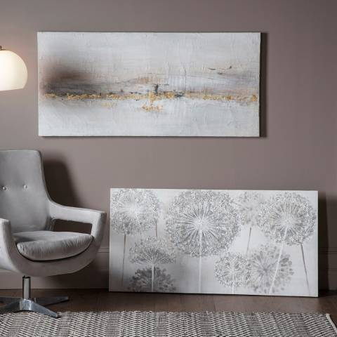 Gallery Golden Coastline Art Canvas 150x70cm