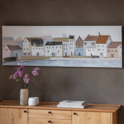 Gallery Harbour Town Art Canvas 150x50cm