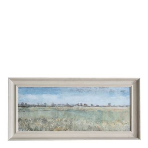 Gallery Kentish Fields Framed Art  115x55cm