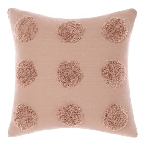 Linen House Haze 45x45 Feather Cushion, Maple