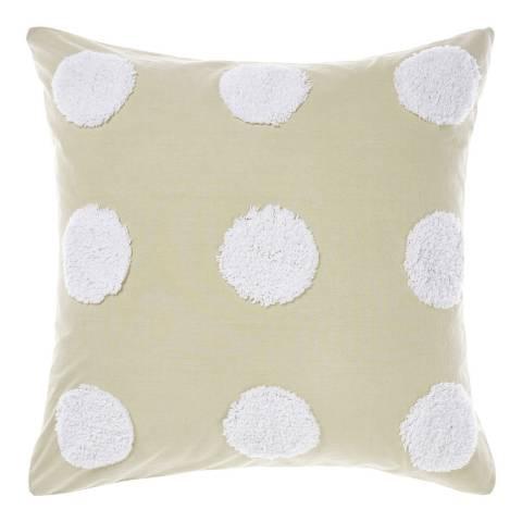 Linen House Haze 45x45 Feather Cushion, Sand