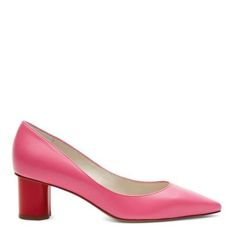 Lulu Guinness Hot Pink Lip Heel Phillipa Court Pumps