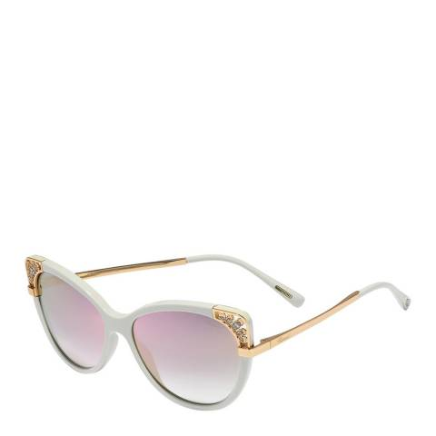 Chopard Women's White Chopard Sunglasses 57mm