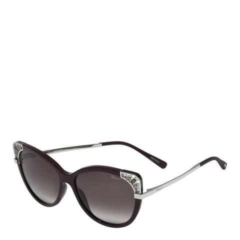 Chopard Women's Black Chopard Sunglasses 57mm