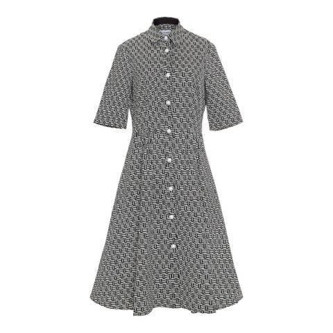 Lulu Guinness Basket Weave Deni Dress