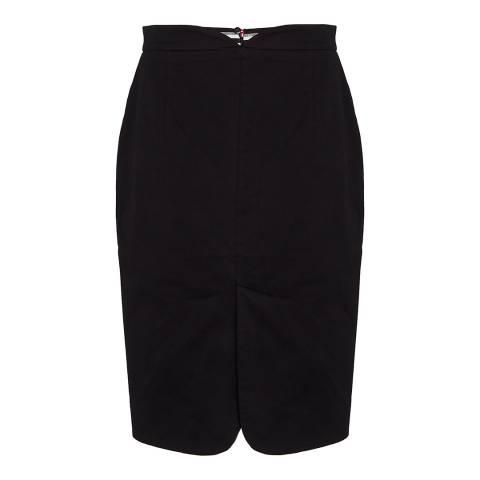 Lulu Guinness Black Sage Skirt
