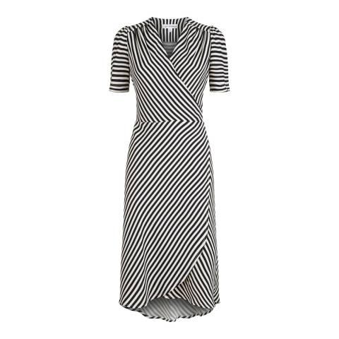 Lulu Guinness Wren Dress Stripe