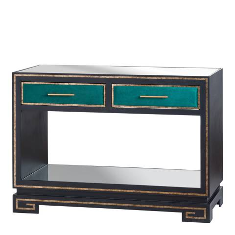 Hill Interiors The Gatsby Collection Two Drawer Console Table