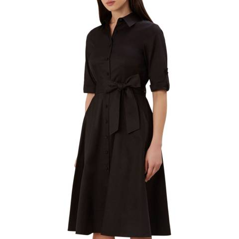 Hobbs London Black Tyra Dress
