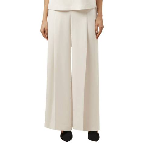 Hobbs London Cream Eloise Trousers