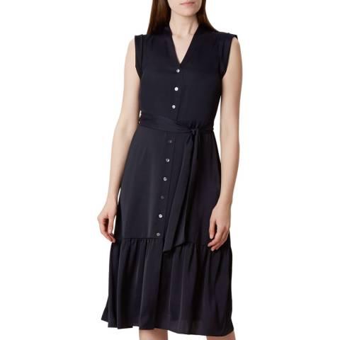 Hobbs London Navy Selma Dress