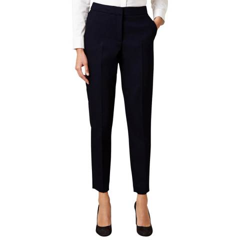 Hobbs London Black Summer Gael Trousers
