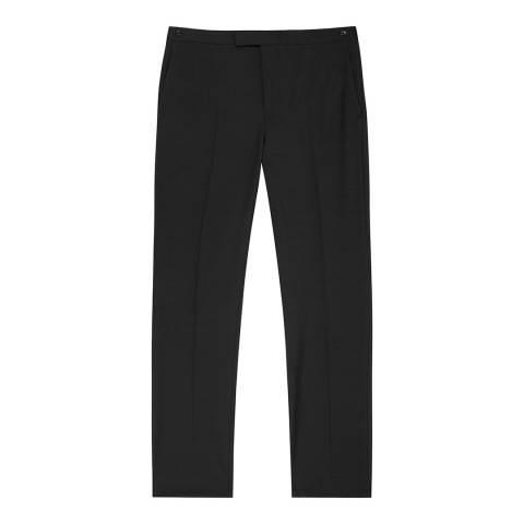 Reiss Black Belief Modern Fit Suit Trousers