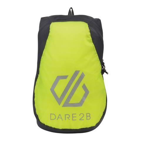 Dare2B Ebony/Fluro Yellow Silicone III Rucksack