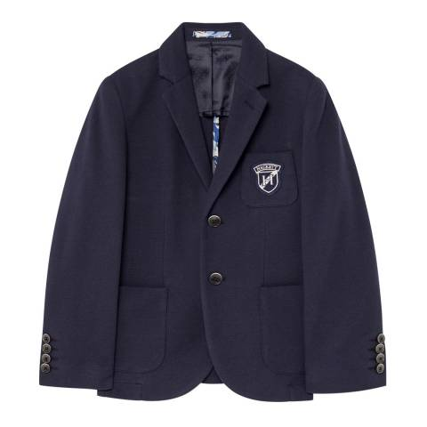 Hackett London Older Navy Pique Blazer