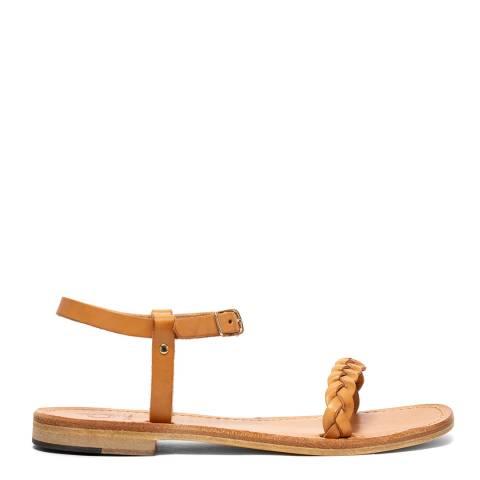 Oliver Sweeney Natural Luxe Leateher Biodola Braied Strap Sandals