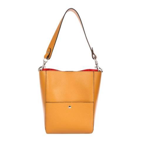 Giorgio Costa Brown Leather Shoulder Bag