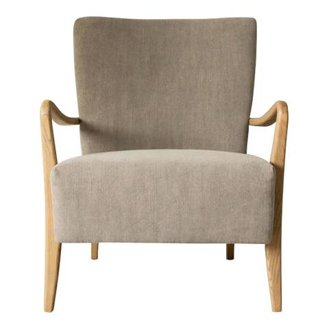 Gallery Chedworth Armchair, Charcoal
