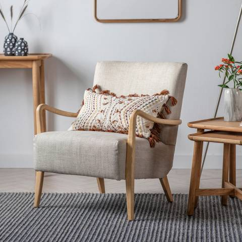 Gallery Chedworth Armchair, Natural Linen