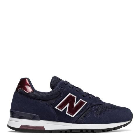 New Balance Dark Navy Classic 565 Sneakers
