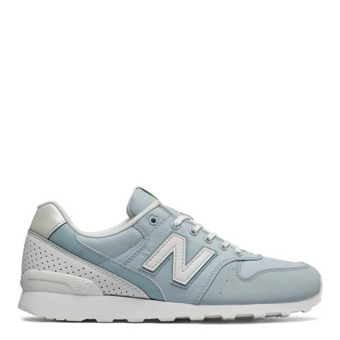 New Balance Blue Classic Running 996 Sneakers